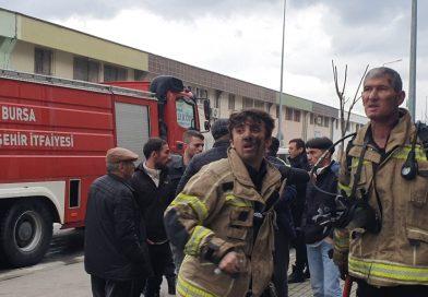 Kömür Deposu Yandı, 10 kişi dumandan zehirlendi