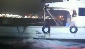 Gemlik'te Kaçak Trol Teknesi Yakalandı
